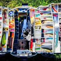 A Box Full Of Must-Have Accessories For Fishing.
